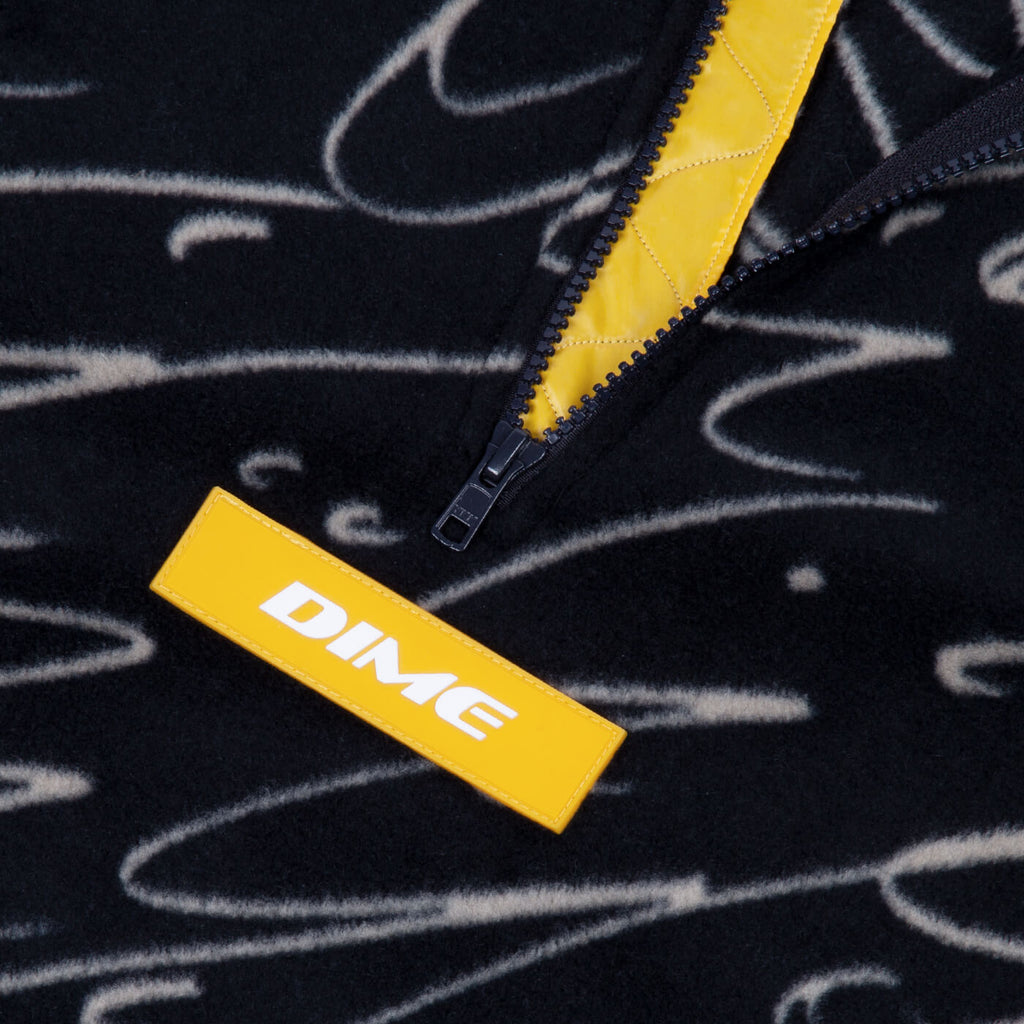 Dime Faces Quarter Zip Fleece