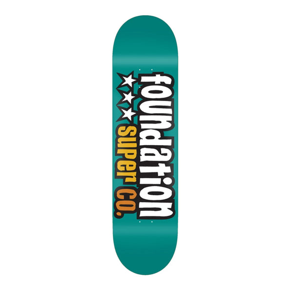 Foundation 3 Star 7.88 Teal Deck