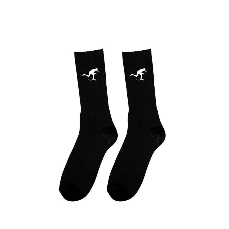 Foundation Super Co. Kick Black Sock