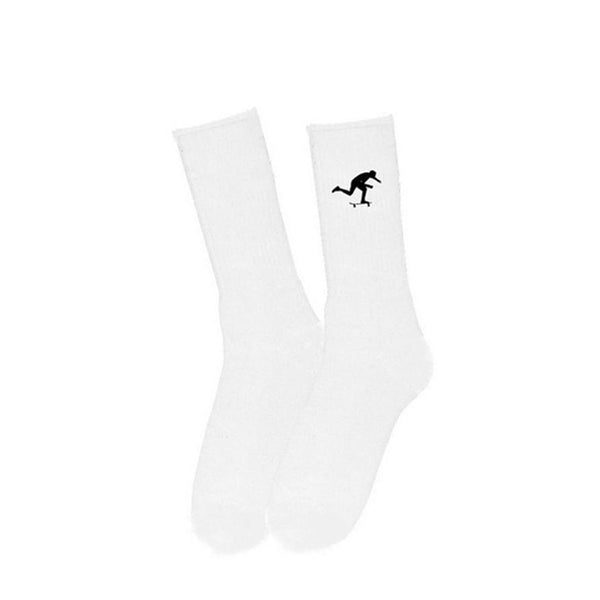 Foundation Kick White Sock