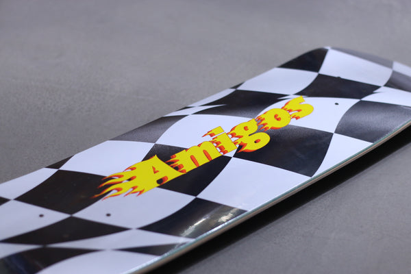 skateboard, Amigos skate shop, Racing logo 01