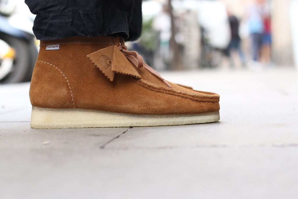 Clarks x Carhartt WIP Originals Wallabee Boot
