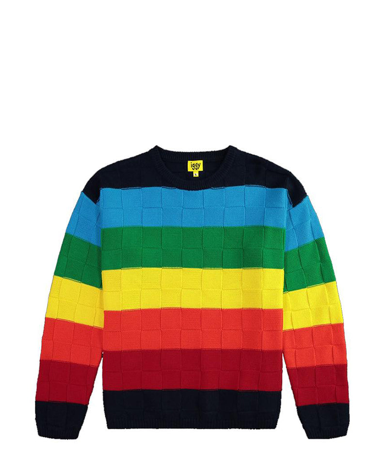 Iggy Rainbow Wool Knit