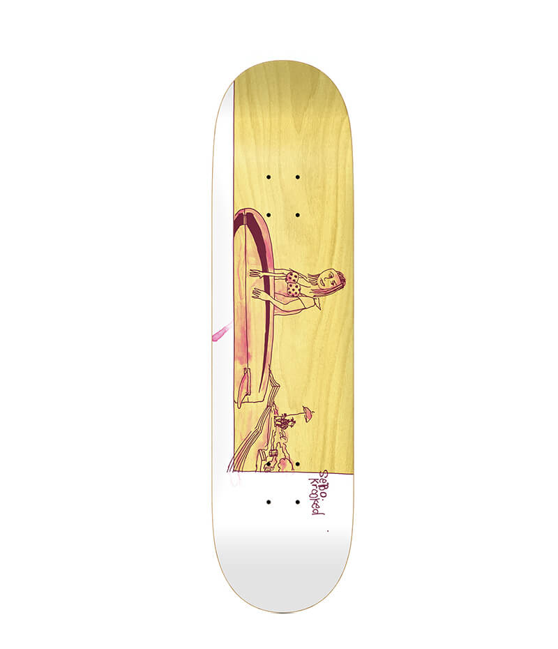 "Krooked Skateboards Sebo Mellow 8.25"" Deck"
