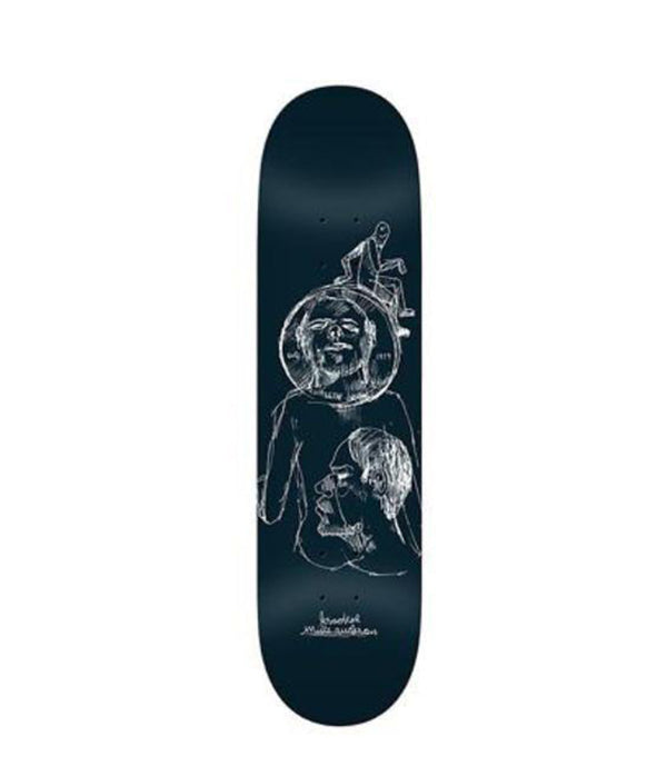 Krooked skateboard, Anderson Coin,