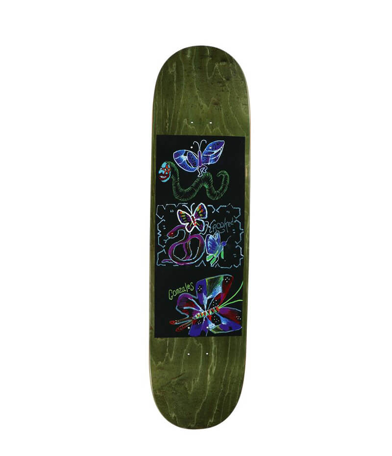 "Krooked Skateboards Gonz Velvet 8.62"" Deck"