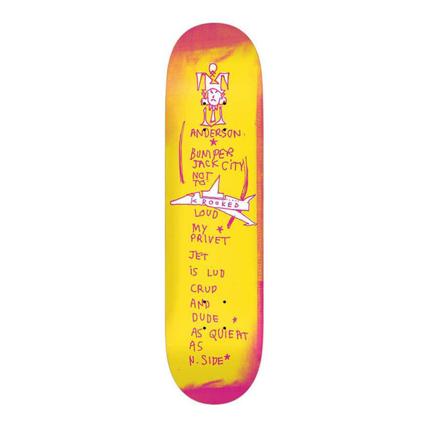 "Krooked Skateboards Anderson Bumper 8.38"" Deck"