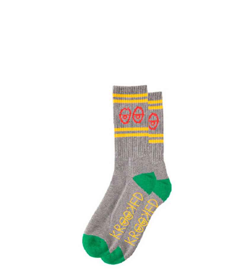 Krooked Eyes Sock