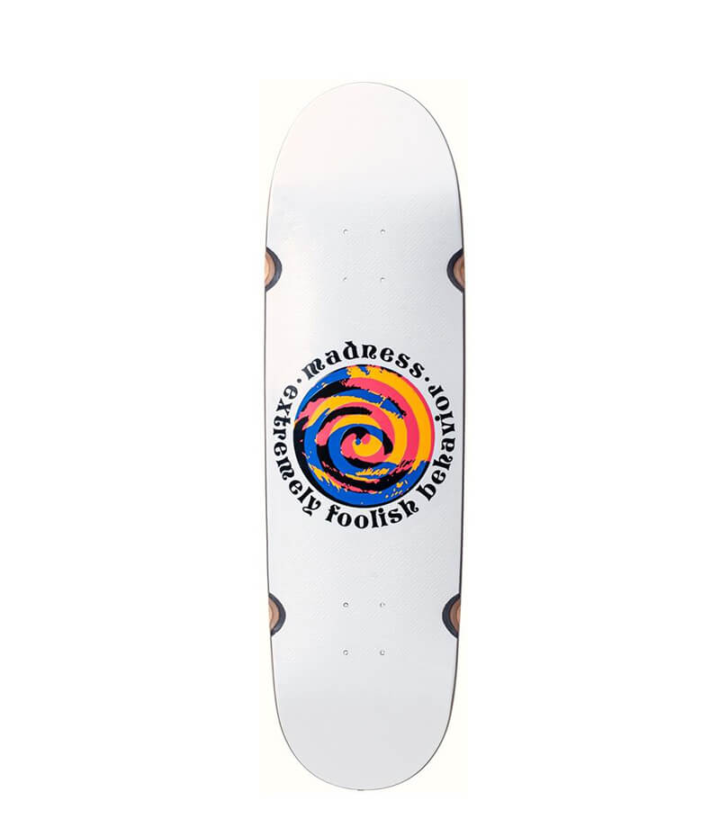 "Madness Swirl Eye R7 9.0"" Deck"