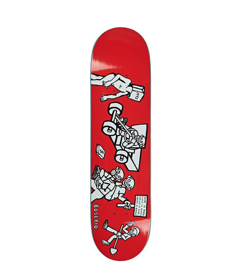 "Polar Boserio Cash is Queen 8.125"" Deck"