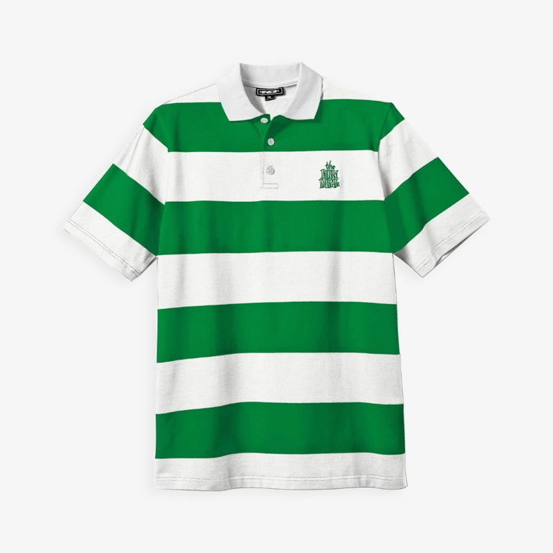 New Deal Stripped Polo