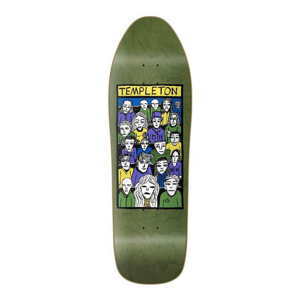 "New Deal Skateboards Templeton Crowd HT 10.125"" Deck"