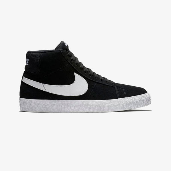 Nike Sb Zoom Blazer Mid Black and White