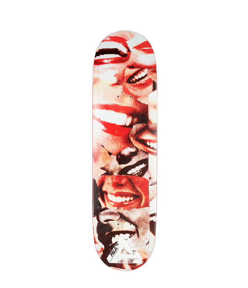 "Palace Lips John & Molly Mouf 8.5"" Deck"