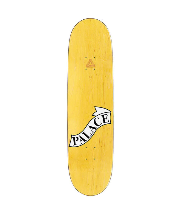 "Palace Skateboards, Hesh 8.06"" Deck top view"