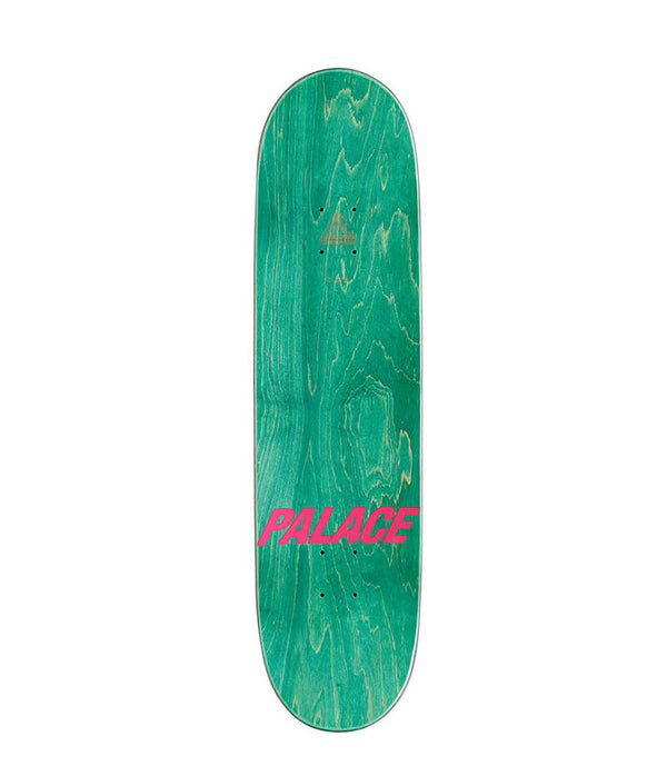 "Palace Skateboards Shock 8.375"" Deck top view"