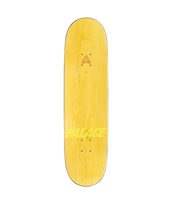 "Palace Skateboards, Shock 8.5"" Deck top view"