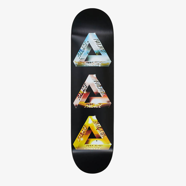 "Palace Chrome Tri-Frieg 1 7.75"" Deck"