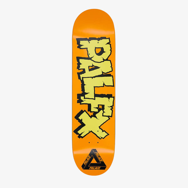"Palace NEIN FX Orange 8.1"" Deck"
