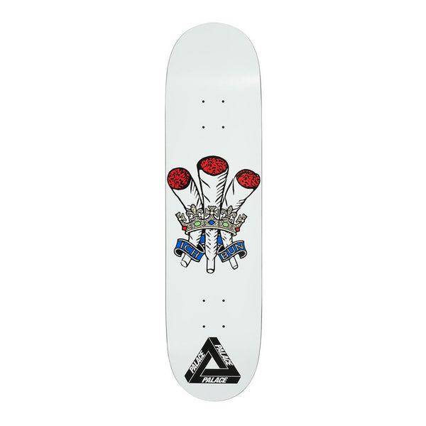 Palace Skateboards Ich Bun White 8.0 Deck
