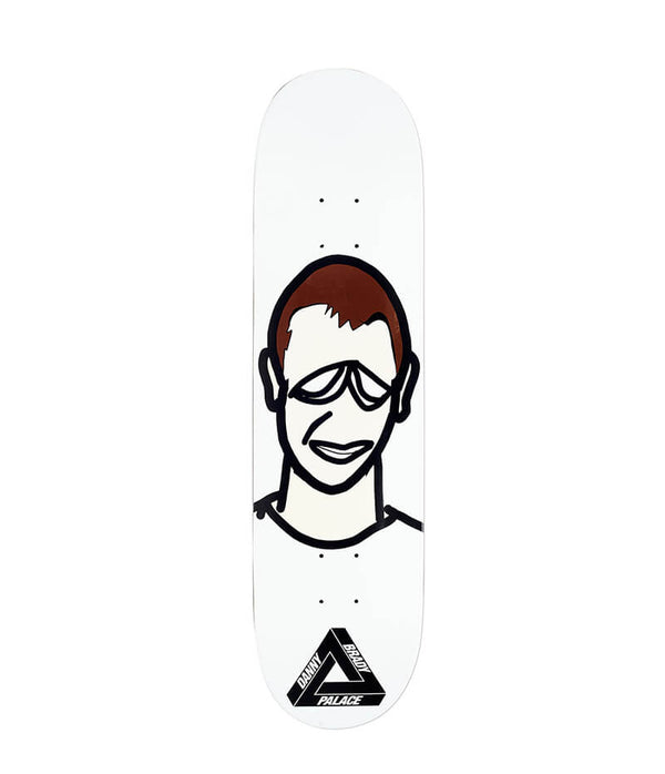 "Palace Skateboards, Brady 8.0"" Deck"