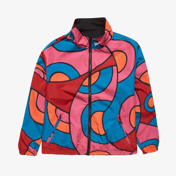 Parra Serpent Pattern Track Jacket