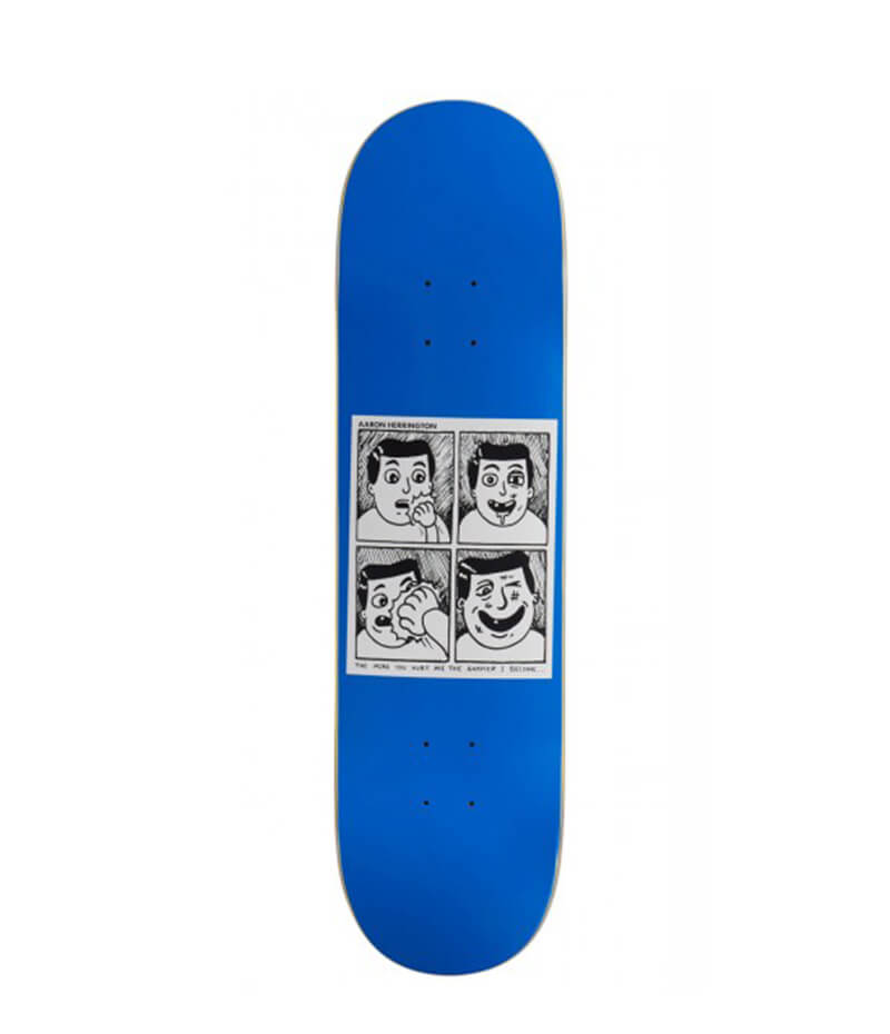"Herrington Hurt Me, 8.25"" Skateboard Deck"