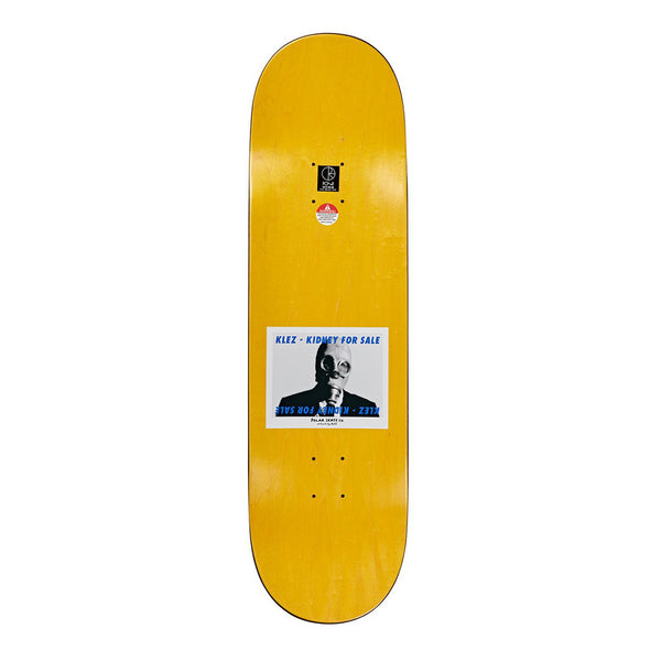 "Polar Klez Kidney For Sale 2.0 8.375"" Deck"