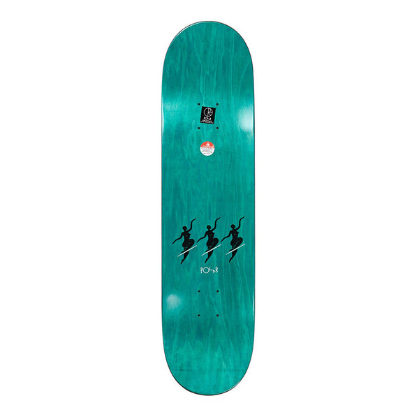 "Polar Team No Comply Red 7.875"" Deck"