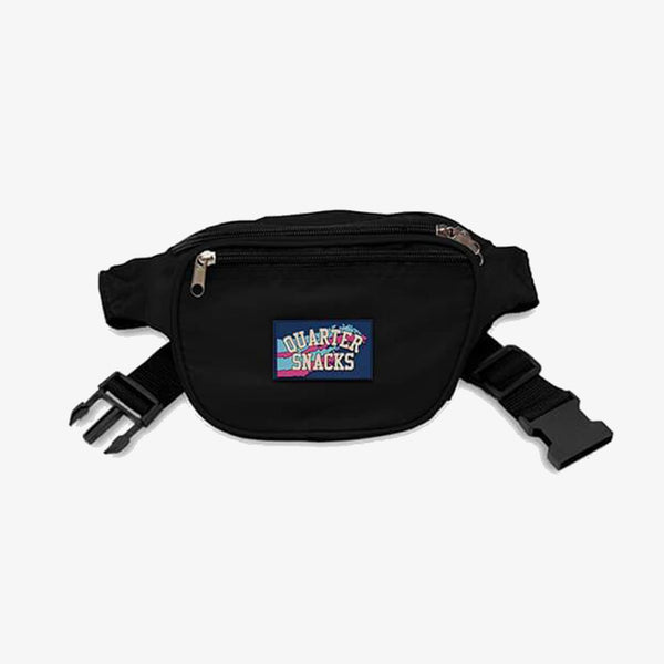 Quartersnacks Black Party Satchel waist bag