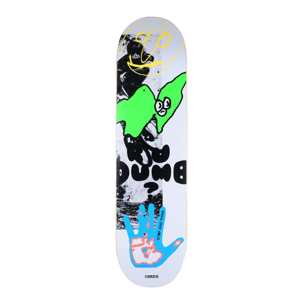 Quasi skateboards, Dumb, 8.125 skateboard deck