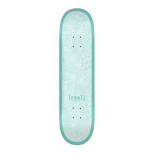 Real Skateboards, Flowers Renewal, 8.25 Deck, Teal