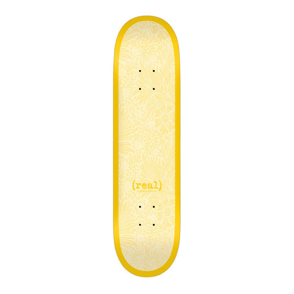 Real Skateboards, Flowers Renewal, 8.38 Deck, Yellow