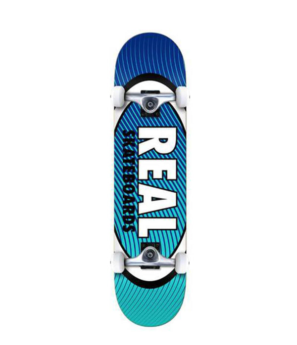 Real Skateboards Oval Heatwave  8.0""