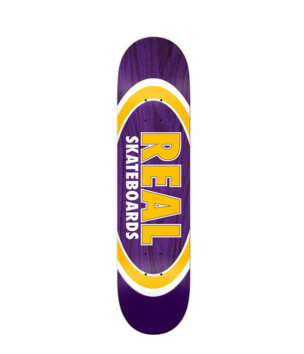 Real Skateboards Dual Oval 8.38""