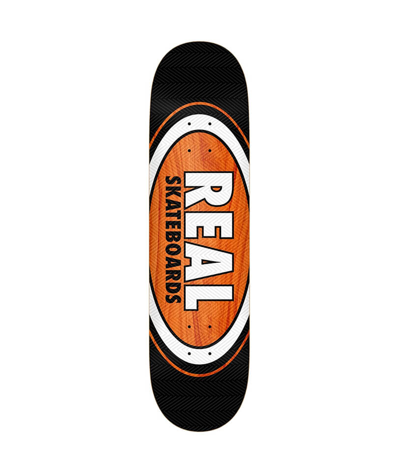 "Real Skateboards AM Edition Oval Gage 8.25"" Deck"