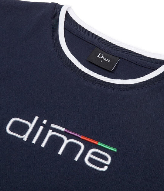 Dime MTL Sprint Navy T-shirt