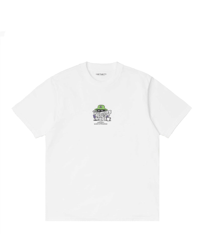 Carhartt Wip, S/S Everything Is Awful White T-shirt