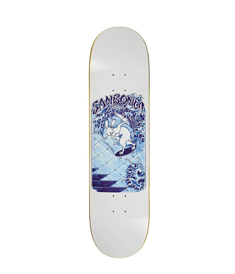"Polar Sanbongi Skate Rabbit 8.25"" Deck"