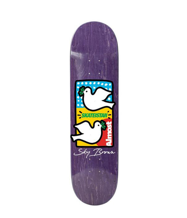 "Almost Skateboards, Skateistan 8.0"" Deck"