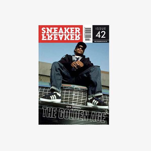 Sneaker Freaker Issue 42, Chi Modu, golden age, hip-hop, rap, eazy-e