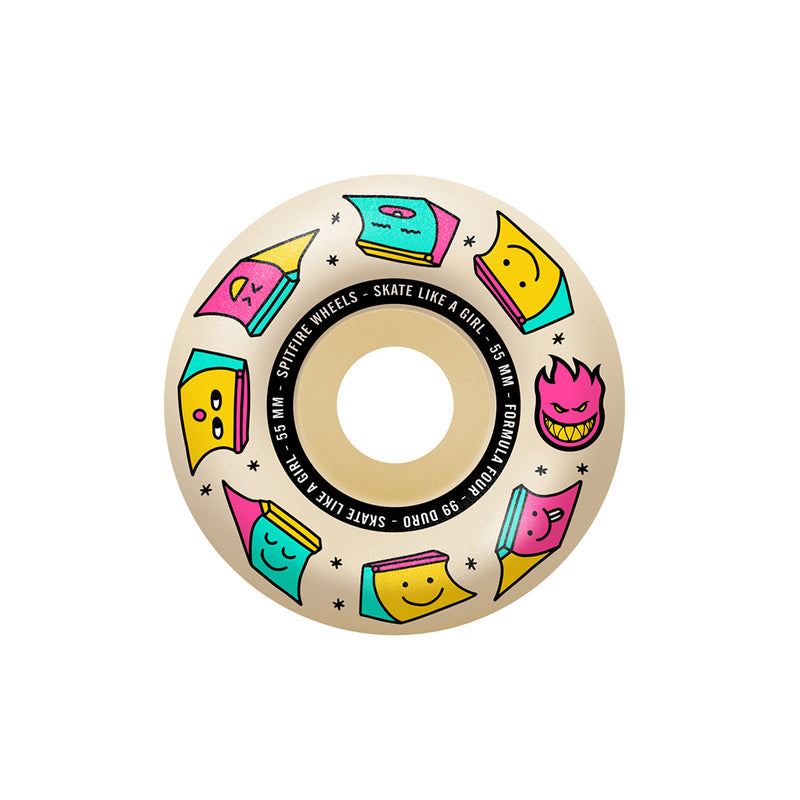 Spitfire 99A Radial SLAG Natural 55mm Skateboard Wheels