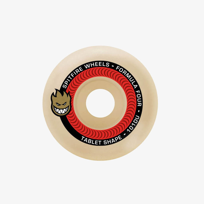 Spitfire Wheels F4 101ATablets Natural 52mm