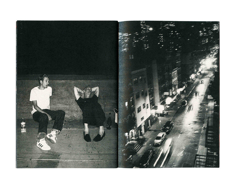 "Jonathan Rentschler - A night out in NYC with Jason Dill Zine 5"" x 7.25"""