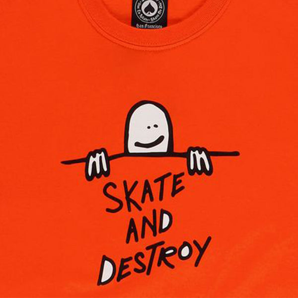 Thrasher Gonz Sad Logo Orange T-Shirt