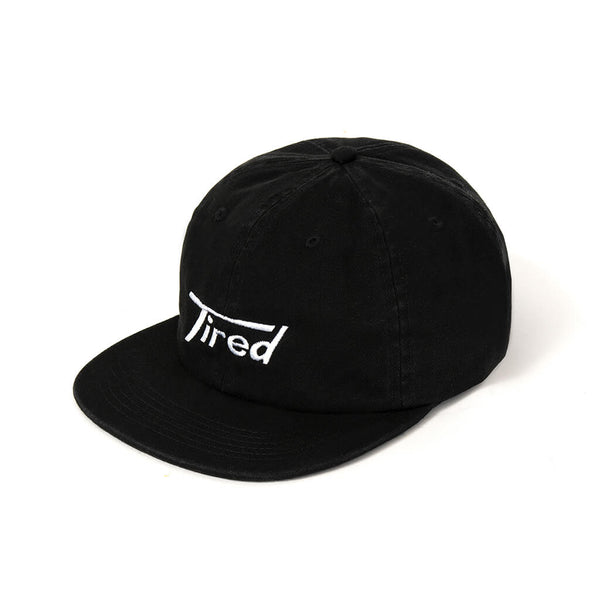 Tired Skateboards Black Hat