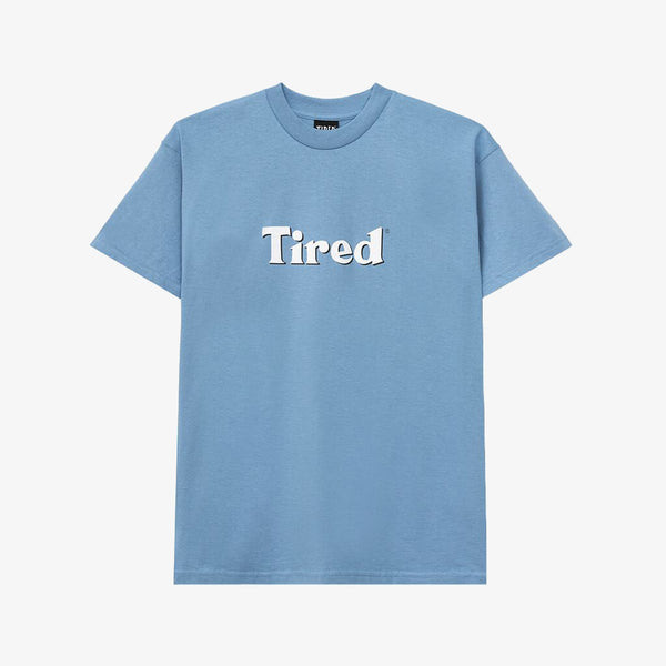 Tired Skateboards T-Shirt Sky Blue D1