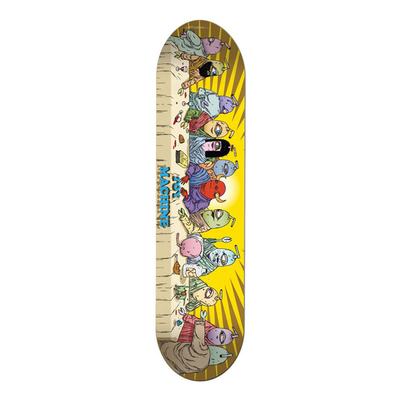 Toy Machine Skateboards, TM Last Supper 8.0 Skateboard Deck