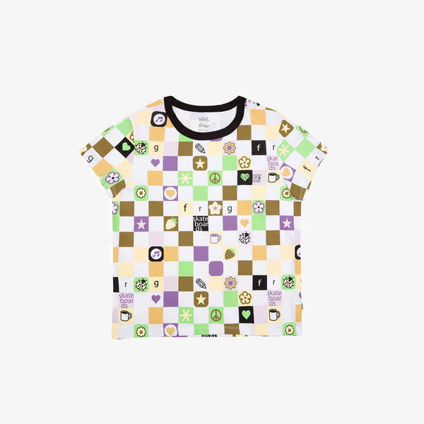 Frog Skateboards X Vans Women Jersey Cropped Tee
