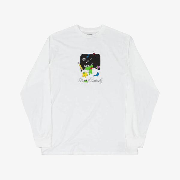Frog X Vans White Long Sleeves T-Shirt